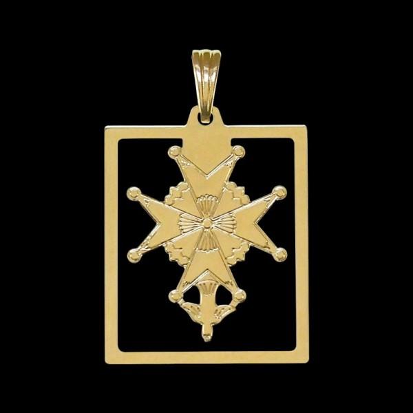 Pendentif Croix Huguenote
