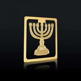 Marque page le Chandelier Judaïque