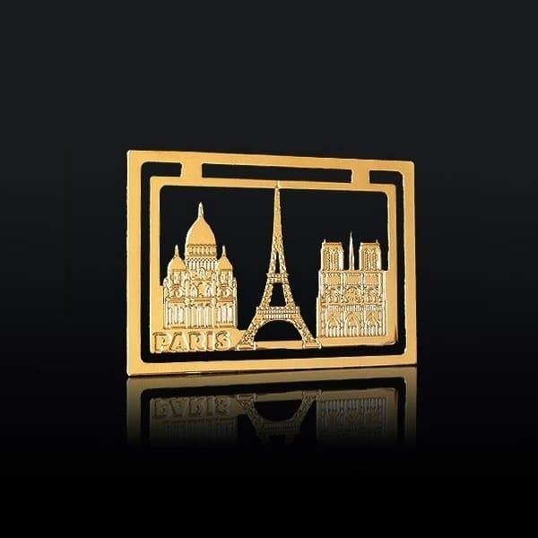 Marque page des Monuments de Paris