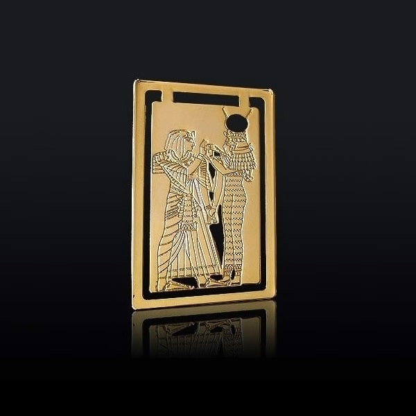 Marque page de Sethi 1er et Hathor