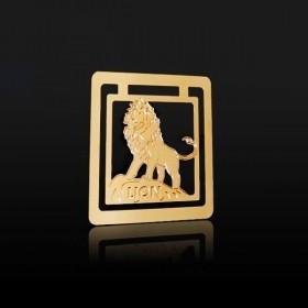 Marque page Le Lion